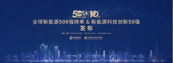 "Warmly celebrate Sunrain continue to hold the title as the ""Top 500 Global New Energy Companies"""